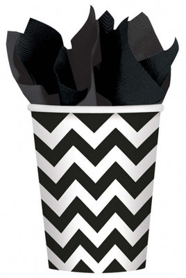 Black Chevron Cups