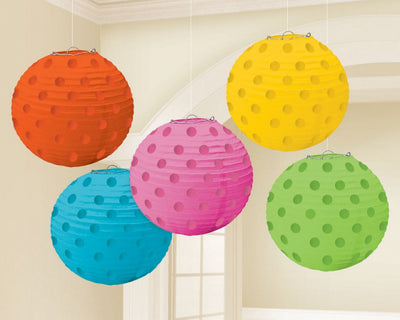 Rainbow Multi Mini Paper Lanterns