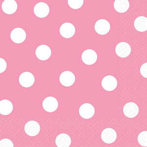 Pink Dots Lunch Napkins