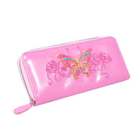 3D Butterfly Pale Pink Purse
