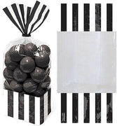 Black Stripe Cello Bags