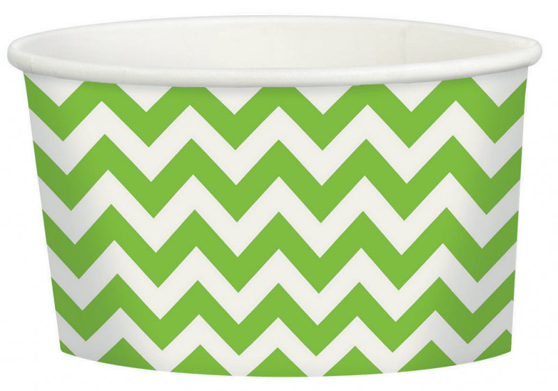 Kiwi Chevron Treat Cup