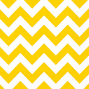 Yellow Chevron Lunch Napkins
