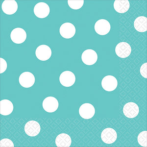 Aqua Dots Lunch Napkins
