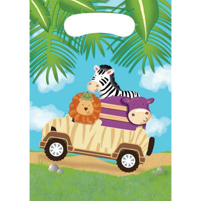 Jungle Safari Adventure Lolly Treat Bags