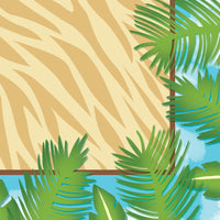 Jungle Safari Adventure Beverage Napkins