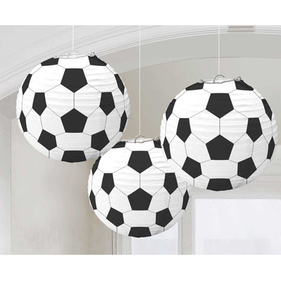 Soccer Fan Paper Lanterns