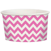 Pink Chevron Treat Cup