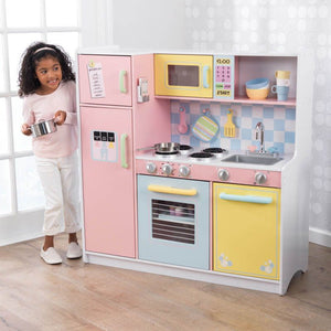 Large Pastel Kitchen