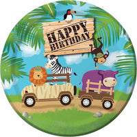 Jungle Safari Adventure Dinner Plates