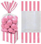 Pink Stripe Cello Bags