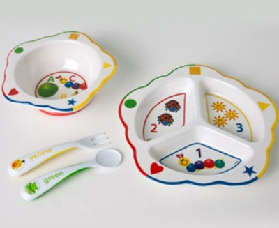 Baby Einstein ABC/123 Meal Time Dinner Set