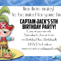 Ahoy There Personalised Invite