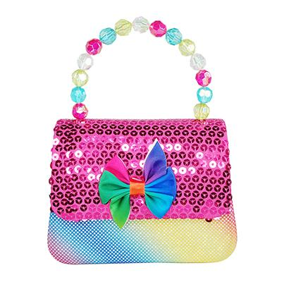 Rainbow Mermaid Hard Handbag