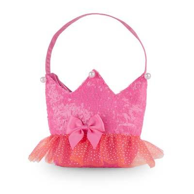 Forever Sparkle Crown Hot Pink Handbag