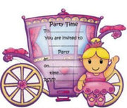 Ballerina Invitations with Sprinkles