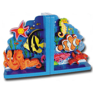 Sea Creatures Bookends