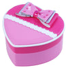 Bow Beautiful Heart Shaped Jewellery Box