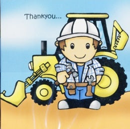 Builder Thank You Cards