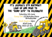 Bulldozer Personalised Invited