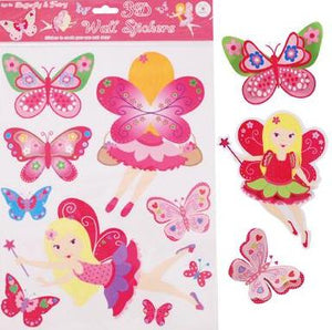 Butterfly Essentials 3D Wall Stickers
