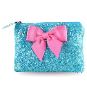 Forever Sparkle Blue Coin Purse