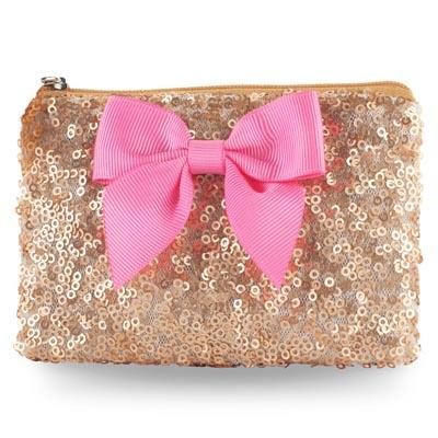Forever Sparkle Gold Coin Purse