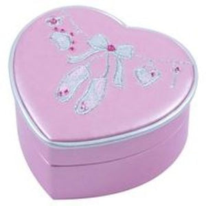 Dance Heart Shaped Jewellery Box