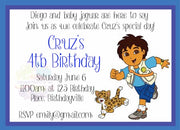 Diego Personalised Invite