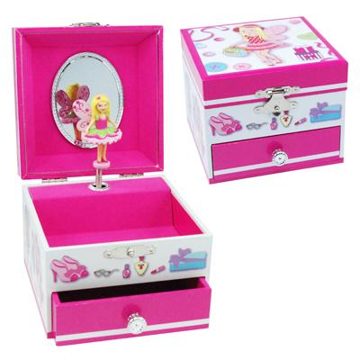 Fashion Fairy Musical Jewellery Box