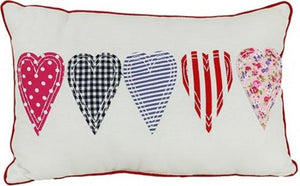 Five Hearts Cushion