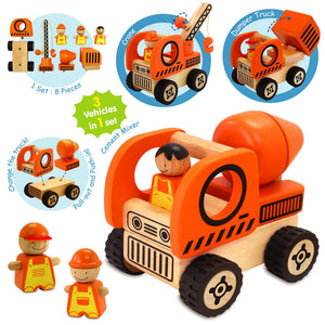 Construction Vehicles Play Set