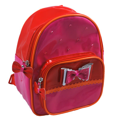 Bow Beautiful Red Mini Backpack
