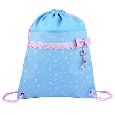 Sweetness & Charms Blue Pink Utility Bag