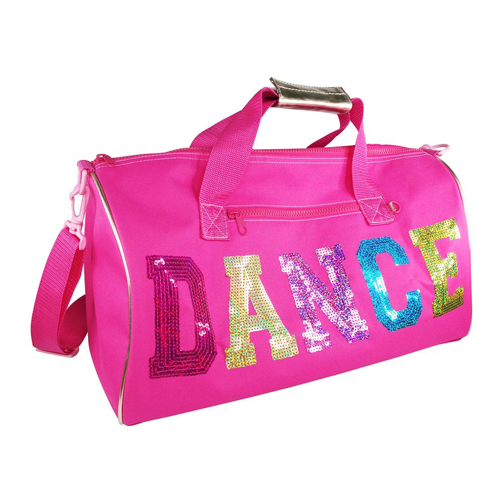 Dance In Style Hot Pink Overnight Bag