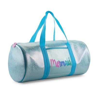 Under The Sea Blue Mermaid Overnight Bag