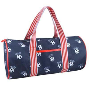 Soccer Club Orange Overnight Bag
