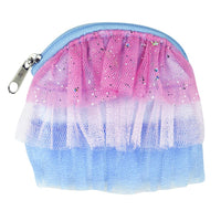 Tutu Cute Blue Coin Purse