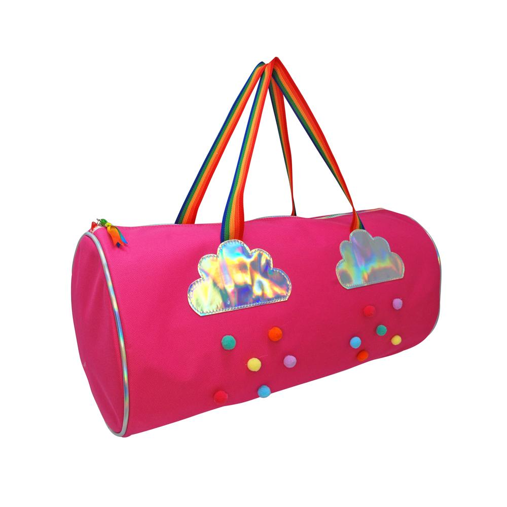 Rainbow Magic Hot Pink Overnight Bag