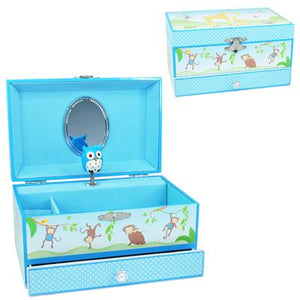 Baby Blossom Musical Jewellery Box