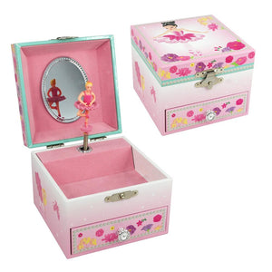 Ballerina Bouquet Musical Jewellery Box