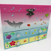 Mystic Mermaid Musical Jewellery Box - Medium