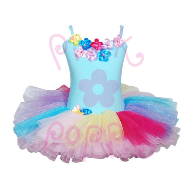Daisy Aqua Tutu Dress