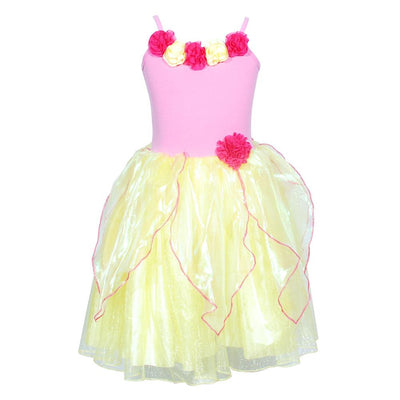 Enchanted Blossom Yellow Dress