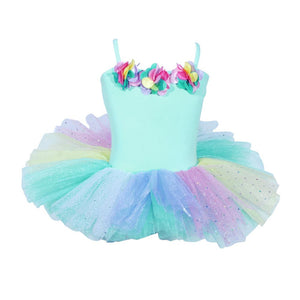Ballerina Bouquet Aqua Tutu Dress