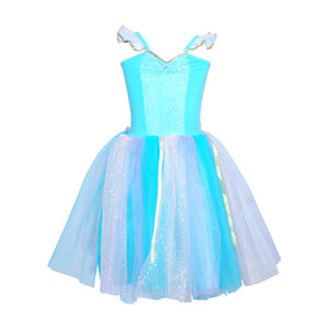 Magical Moment Aqua Dress