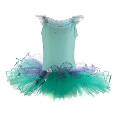 Dancing Star Mint Tutu Dress