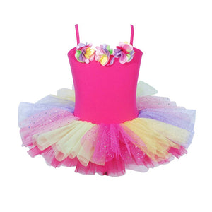 Ballerina Bouquet Hot Pink Dress