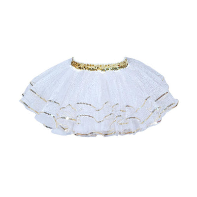 Sparkle Holiday White Tutu