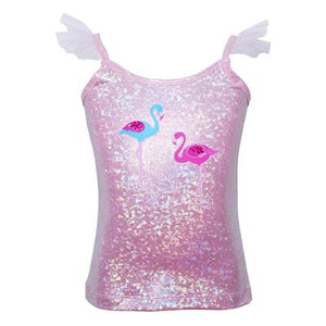 Flamingo Party Top